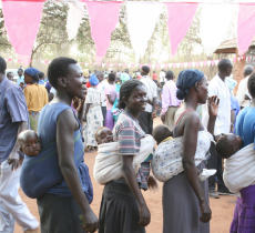 Hospital-Hilfe Äthiopien